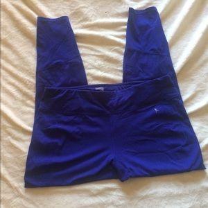 Danskin blue athletic legging
